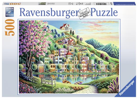 Ravensburger pusle Blossom park 500tk