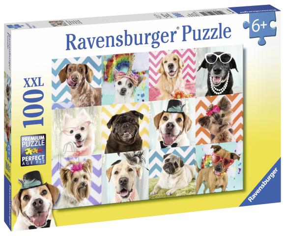 Ravensburger pusle Koerad 100tk
