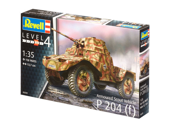 Revell mudelsõiduk Armoured Scout Vehicle P 204 (f) 1:35