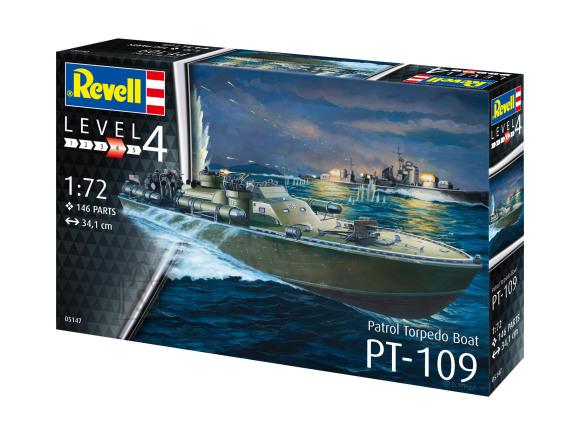 Revell mudellaev Patrol Torpedo Boat PT-109 1:72