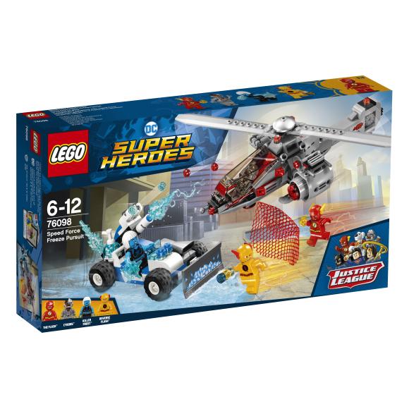 LEGO klotsid Super Heroes Kiire Force Freeze jälitamine