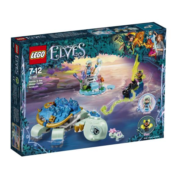 LEGO klotsid Elves Naida ja veekilpkonna varitsus