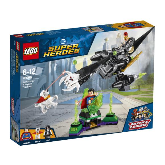 LEGO klotsid Super Heroes Superman™ & Krypto™ meeskondade ühinemine