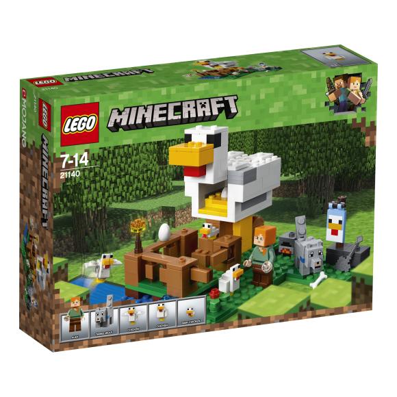 LEGO klotsid Minecraft Kanala