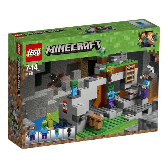 LEGO klotsid Minecraft Zombikoobas