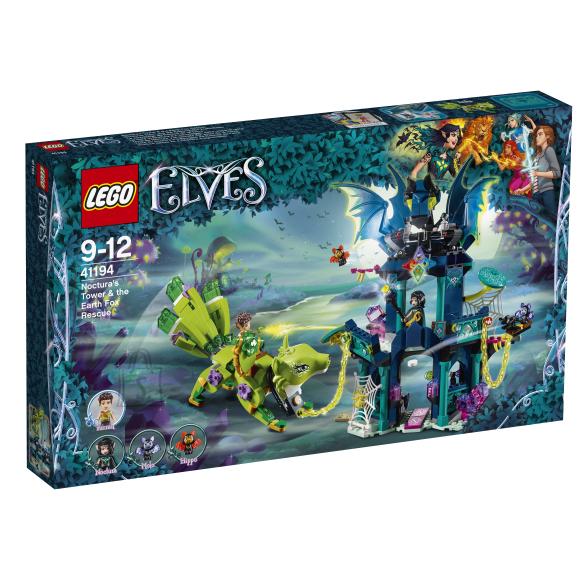 LEGO klotsid Elves Noctura torn ja maarebase pääsemine