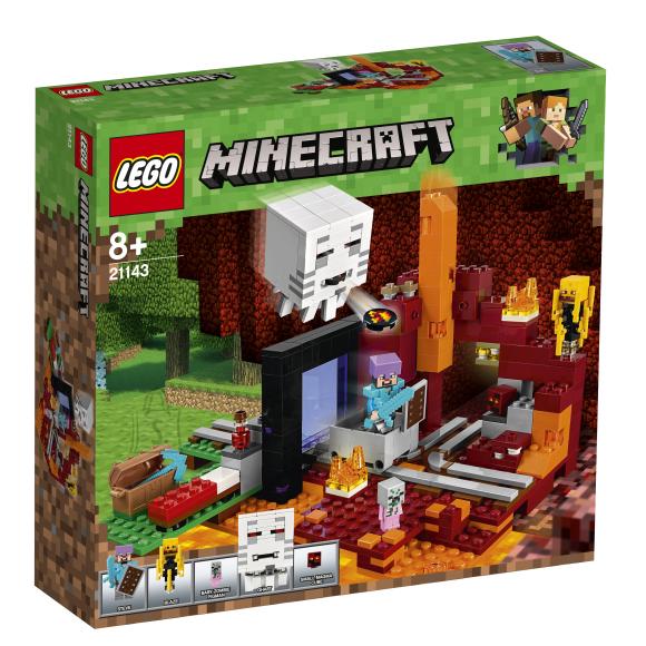 LEGO klotsid Minecraft Netheri portaal