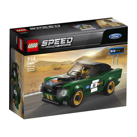 LEGO klotsid Speed Champions 1968 Ford Mustang Fastback
