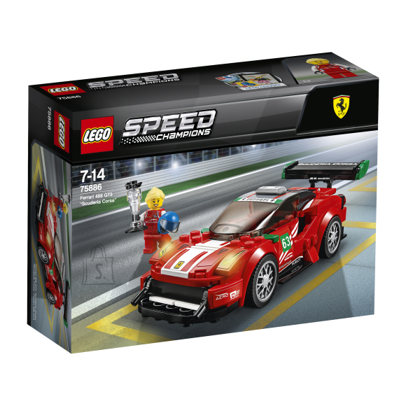 LEGO klotsid Speed Champions Ferrari 488 GT3 Scuderia Corsa