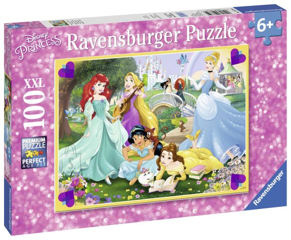 Ravensburger pusle Disney Printsess 100 XXL tk