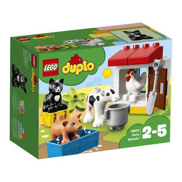 LEGO Duplo klotsid Taluloomad