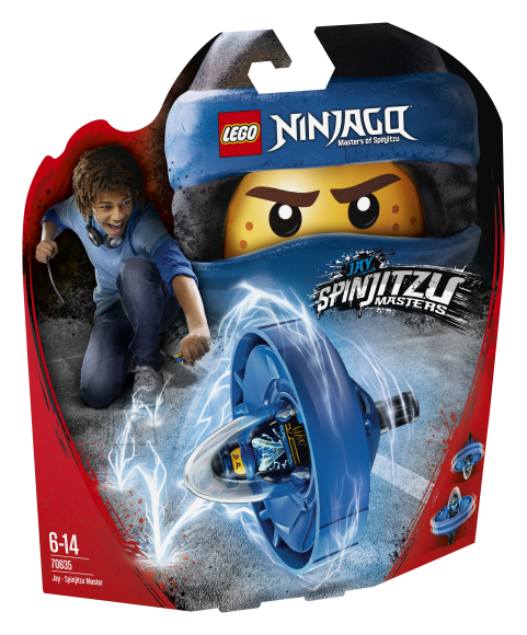 LEGO klotsid Ninjago Jay-Spinjitzu meister