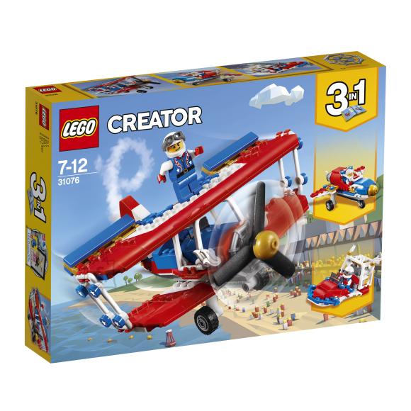 LEGO klotsid Creator Uljaspea kaskadöörilennuk