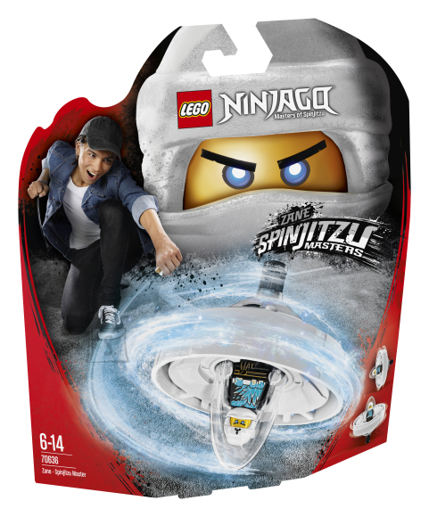 LEGO klotsid Ninjago Zane-Spinjitzu meister
