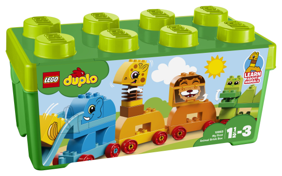 LEGO Duplo klotsid Minu esimene loomade ehituskast