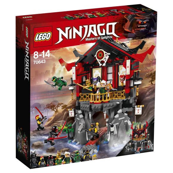 LEGO klotsid Ninjago Ülestõusmise tempel