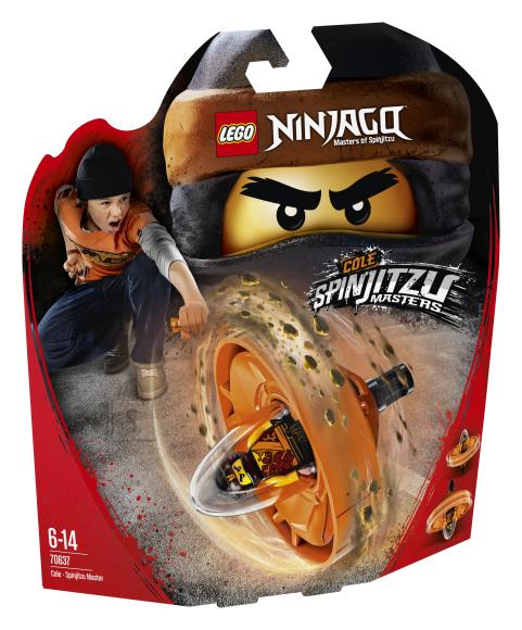 LEGO klotsid Ninjago Cole-Spinjitzu meister
