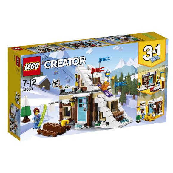 LEGO klotsid Creator Moodulehitis talvepuhkuseks
