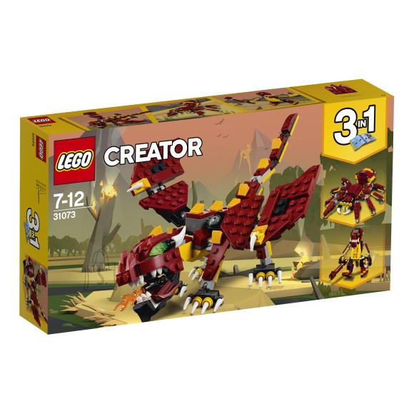 LEGO klotsid Creator Müütilised olendid