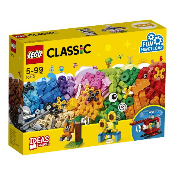 LEGO klotsid Classic Klotsid ja hammasrattad