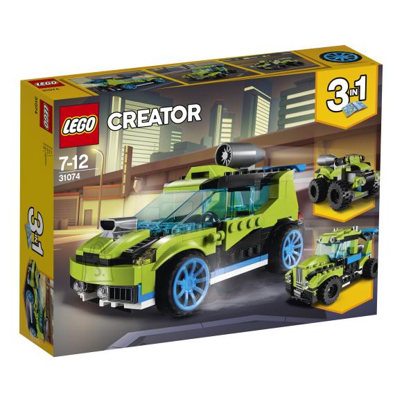 LEGO klotsid Creator rakettralliauto