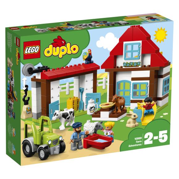 LEGO Duplo klotsid Taluseiklused