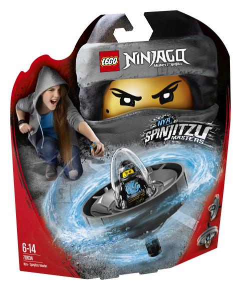 LEGO klotsid Ninjago Nya-Spinjitzu meister