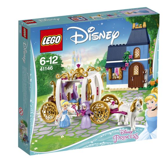 LEGO klotsid Disney Tuhkatriinu võluõhtu