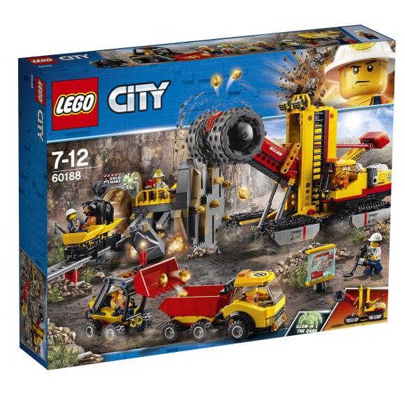 LEGO City kaevandusekspertide plats