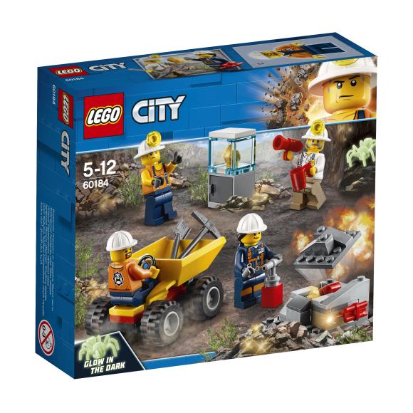 LEGO klotsid City Kaevandusmeeskond