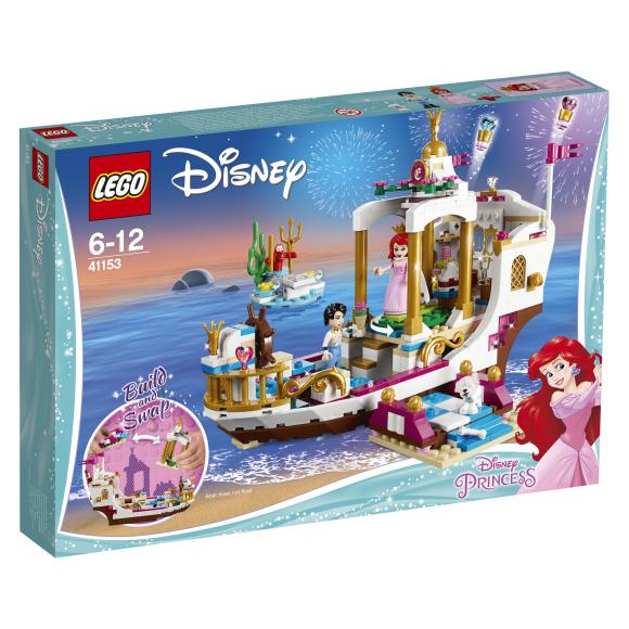 LEGO klotsid Disney Arieli kuninglik pidustuste laev