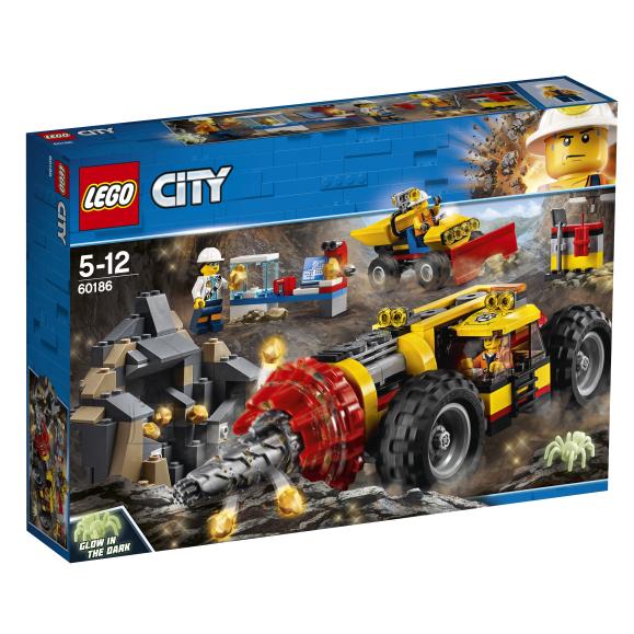 LEGO klotsid City kaevanduspuur