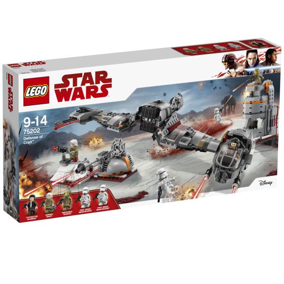 LEGO klotsid Star Wars Crait™i kaitse