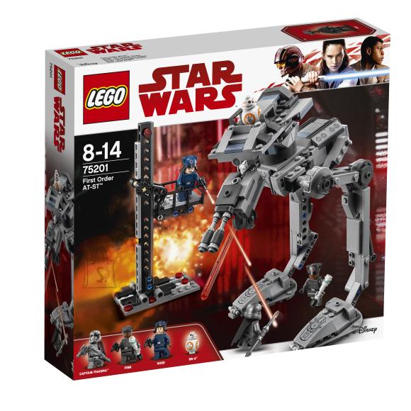 LEGO klotsid Star Wars Esimese ordu AT-ST™