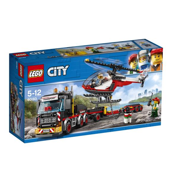 LEGO klotsid City raske koorma transportimine