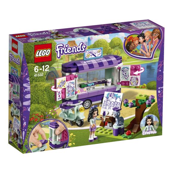 LEGO klotsid Friends Emma kunstistend