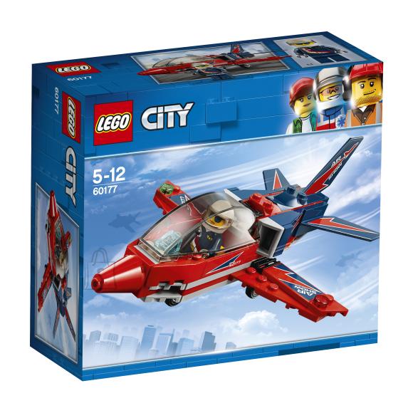 LEGO klotsid City õhuetenduse reaktiivlennuk