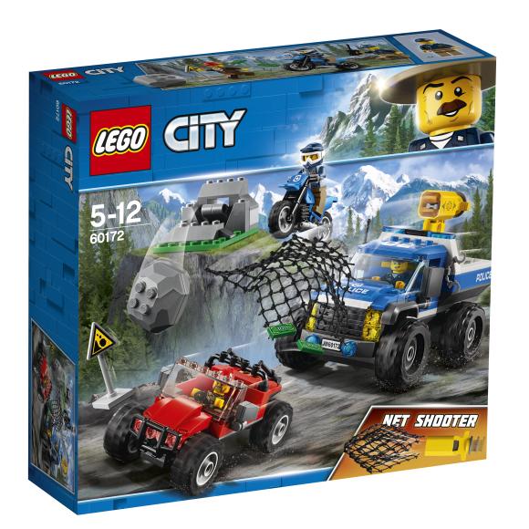 LEGO klotsid City muldteel tagaajamine