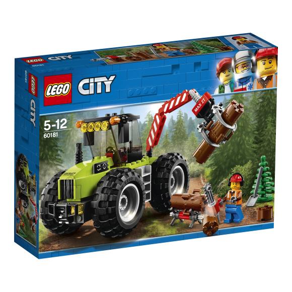 LEGO klotsid City metsatraktor