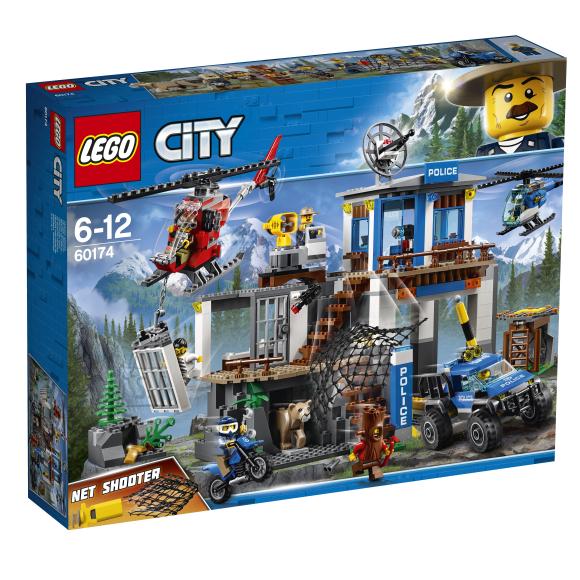 LEGO klotsid City mägipolitsei peakorter