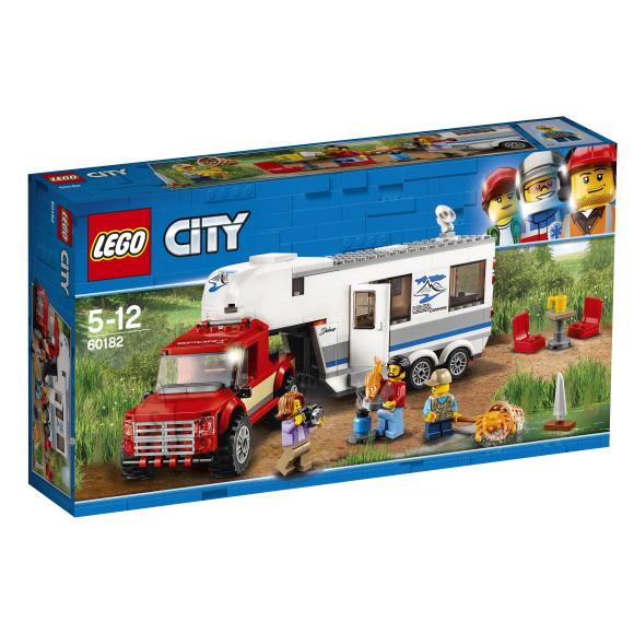 LEGO klotsid City pikap ja haagissuvila