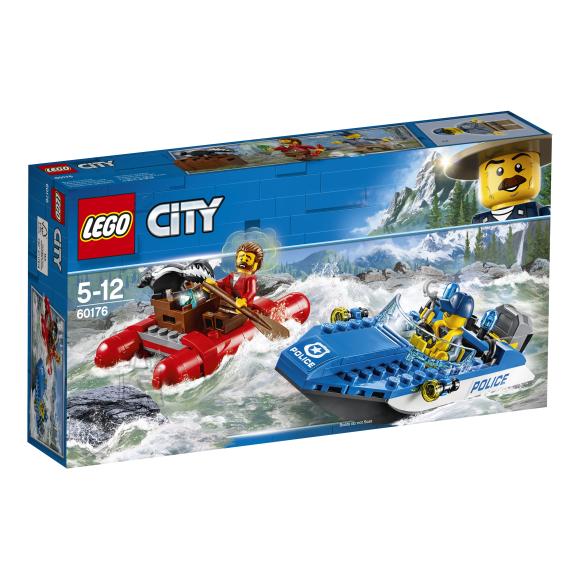 LEGO klotsid City tormisel jõel põgenemine