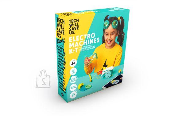 Technology Will Save Us elektrooniliste masinate plastiliinikomplekt