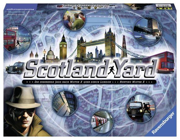 Ravensburger lauamäng Scotland Yard 1