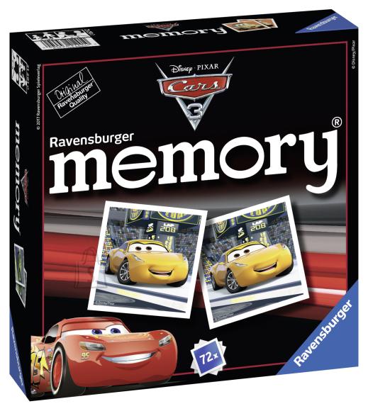 Ravensburger lauamäng memory Autod 3