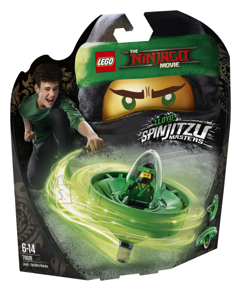 LEGO klotsid Ninjago Lloyd-Spinjitzu Meister