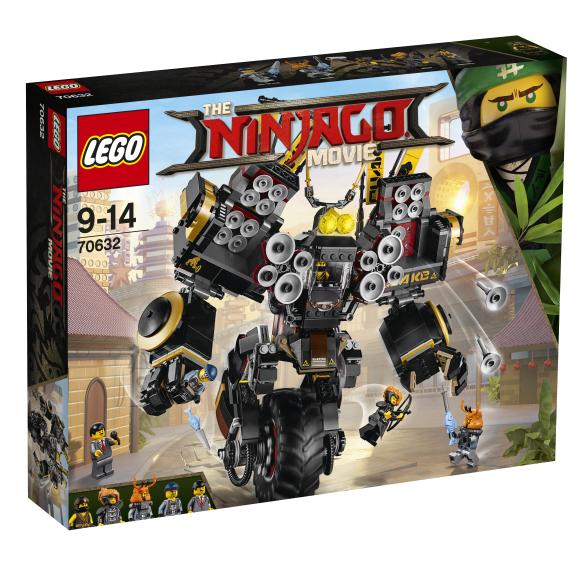 LEGO klotsid Ninjago maavärinakoletise robotsõiduk