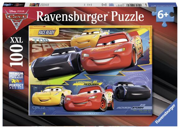Ravensburger pusle Autod 3 100 XXL tk