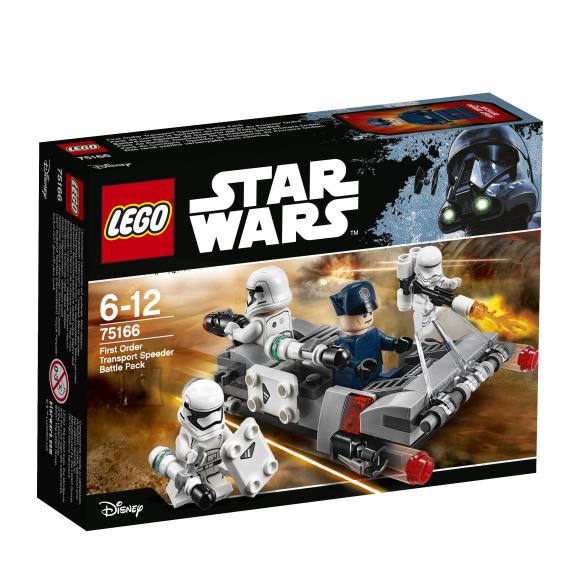 LEGO klotsid Star Wars Esimese ordu transpordi kiirendi