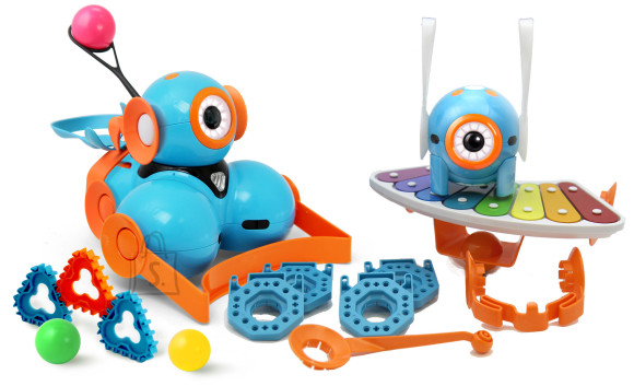 Wonder Workshop Dash ja Dot Wonder robootikakomplekt